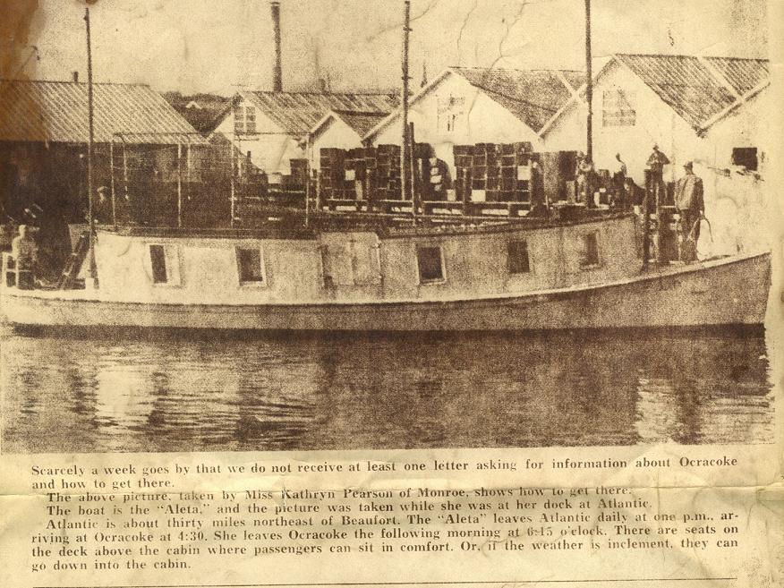 Mail Boat Aleta