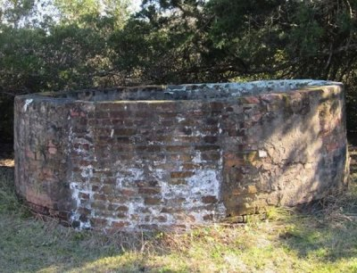 Marine Hospital Cistern
