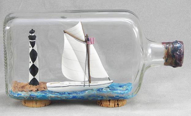 ships in bottles village craftsmen. Black Bedroom Furniture Sets. Home Design Ideas