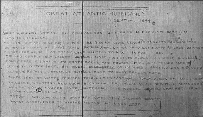 1944 Hurricane