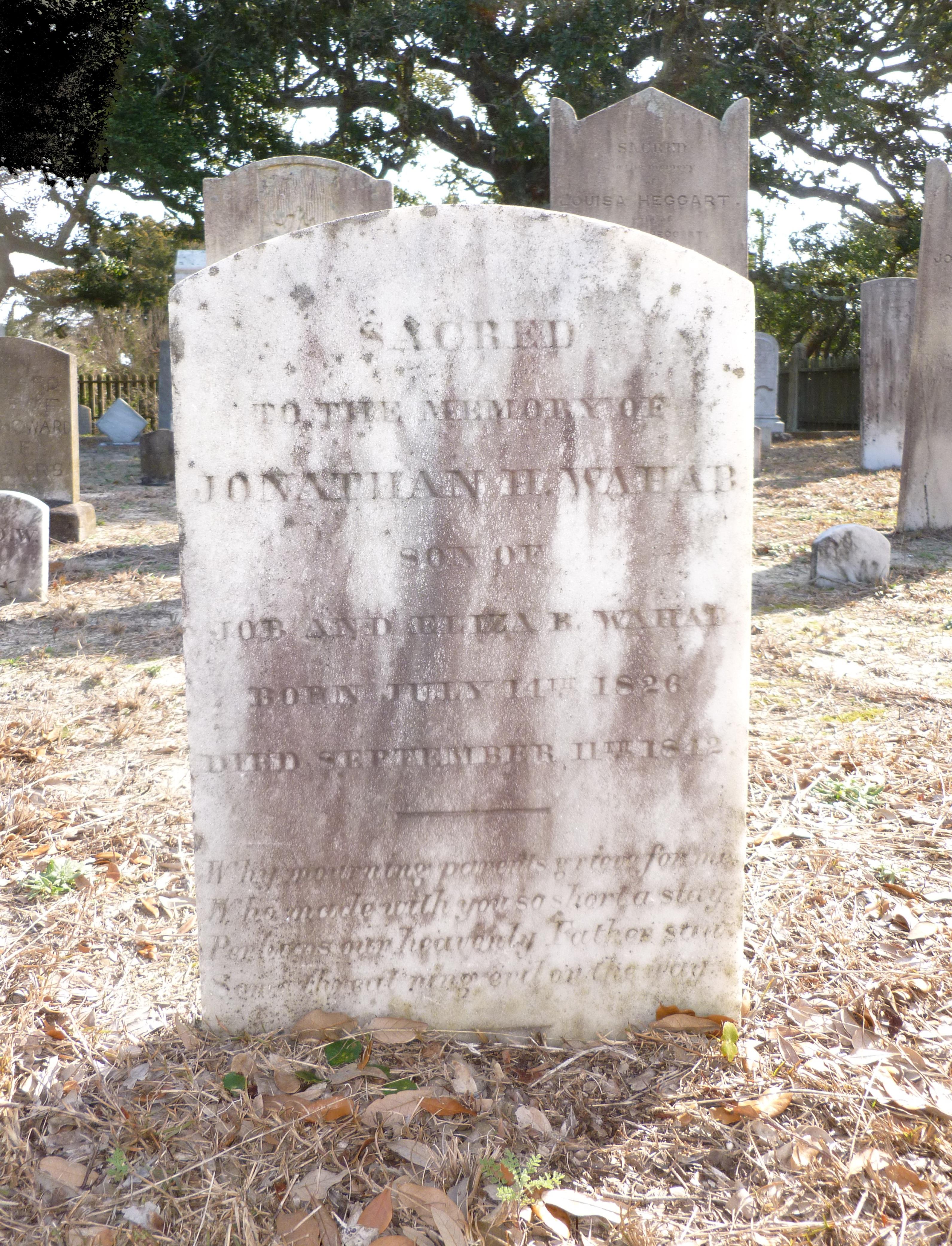 Jonathan Wahab Grave