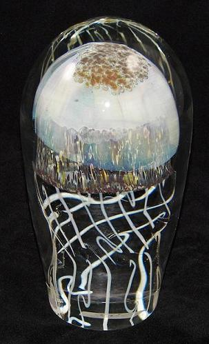 Link to blown glass