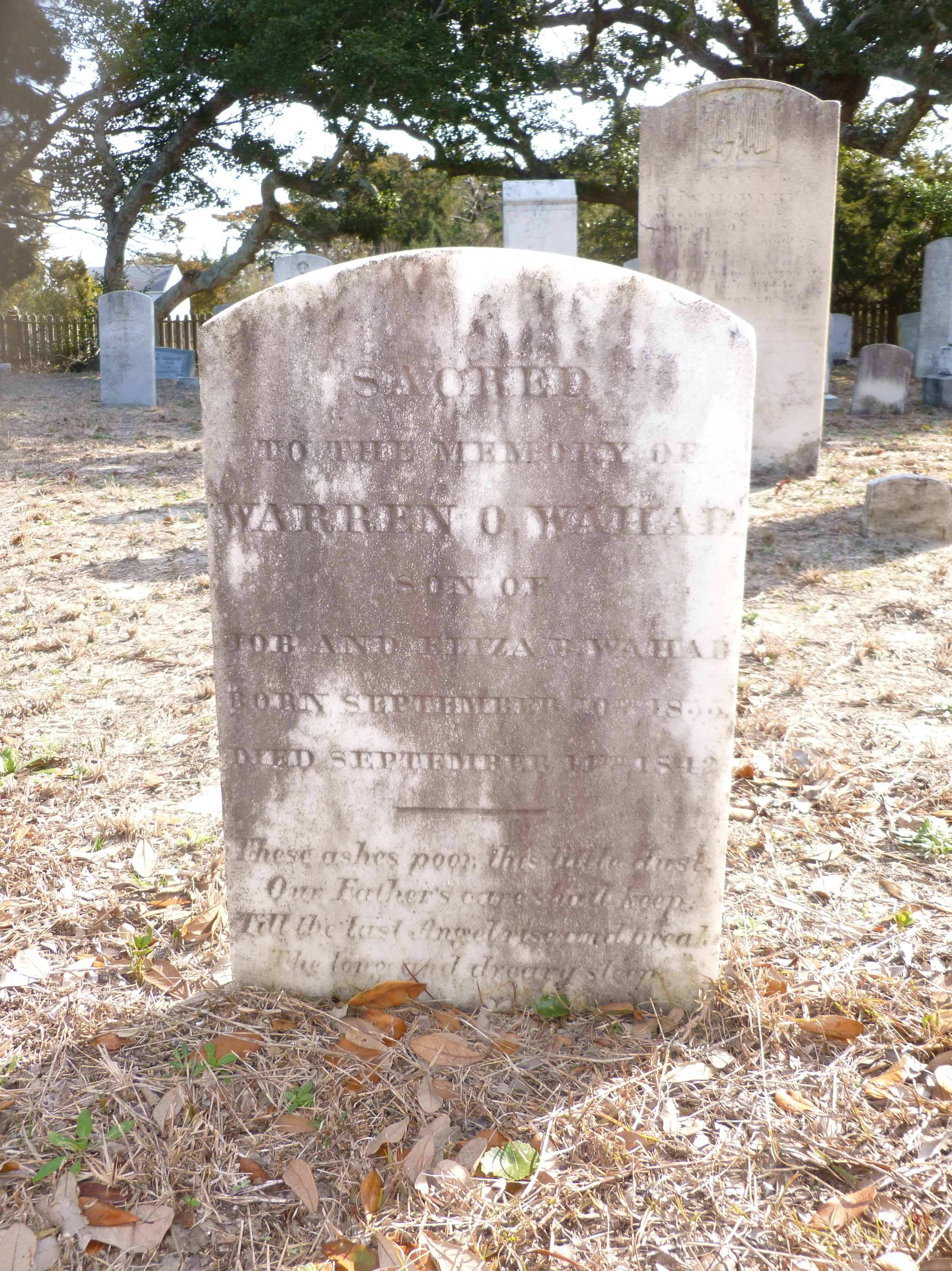 Warren Wahab Grave