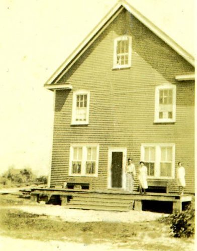 Home of Ben O'Neal, ca. 1925