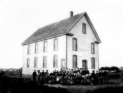 Odd Fellows Lodge, ca. 1901