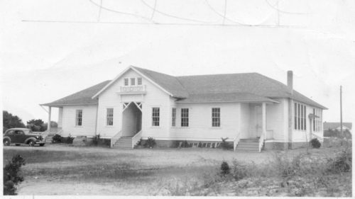 The 1917 Ocracoke Schoolhouse