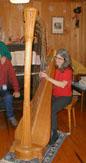 Julie at Harp