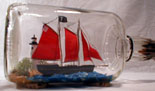 Windfall Ship In Bottle