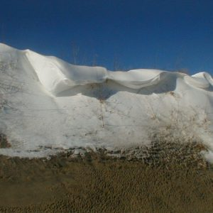 snow dune drift
