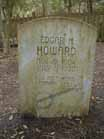 Edgar's gravestone