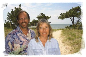 Ken DeBarth & Ruth Fordon of Island Path