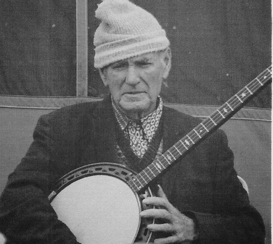 Ocracoke Native, Edgar Howard, with his Banjo