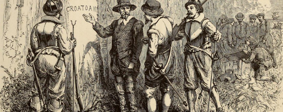 Croatoan 1870 Etching